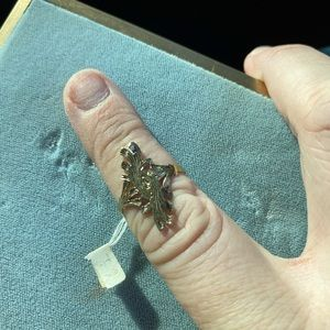 Antique filigree ring sized 6